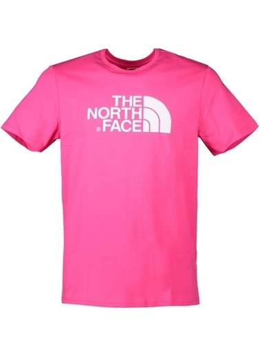 The North Face Easy Erkek Tişört  Pembe Pembe